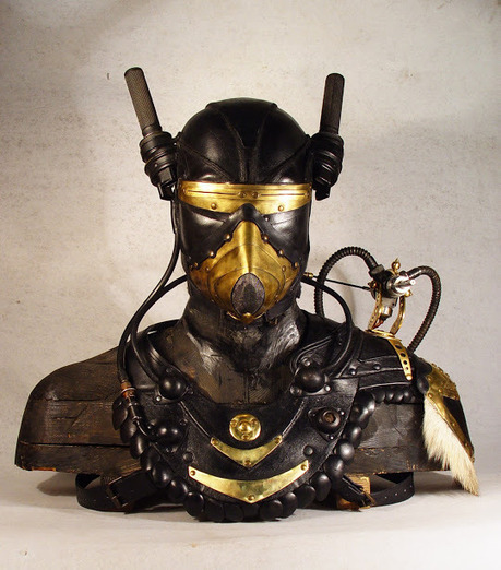 Les masques d'inspiration steampunk de Bob Basset | Yumington Magazine | Scoop.it