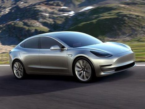 Tesla Model 3: ed è subito boom! - ecoAutoMoto.com | Mobilità ecosostenibile: auto e moto elettriche, ibride, innovative | Scoop.it