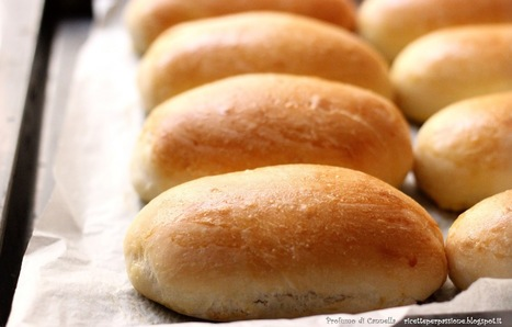 Profumo di cannella: Panini per hot dog - pronti in 3 ore con il lievito di birra   Ricette e preparazioni spiegate passo passo   Scoop.it