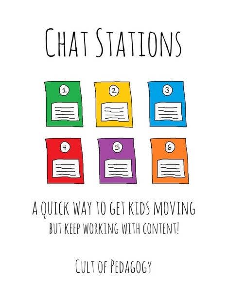 Students Sitting Around Too Much? Try Chat Stations. | Edtech PK-12 | Scoop.it