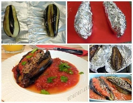 aubergines farcies / recette turque: karniyarik | Cuisine Algerienne, cuisine marocaine, cuisine tunisienne, cuisine indienne | Scoop.it