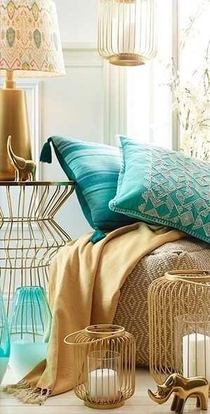 Get Inspired From These 17 Bohemian Chic Interior Designs | Homesthetics | Scoop.it