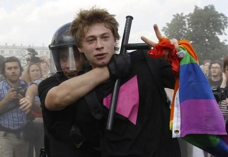 Report: Russian LGBT advocates detained for protesting Ukraine invasion | LGBT | Scoop.it