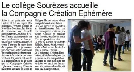 Centre Presse - jeudi 17 mars | e-revue de presse sourezes | Scoop.it