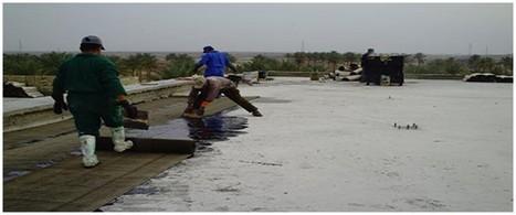 عزل مائي للاسطح والخزانات والحمامات باستخدام المواد الاكثر جودة مع الضمان |ضفاف الخليج | defafalkhaleej | Scoop.it