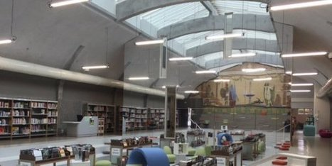Saint-Maixent (79) : la médiathèque dans une ancienne piscine - France 3 Poitou-Charentes | Bibliothèques en ligne | Scoop.it