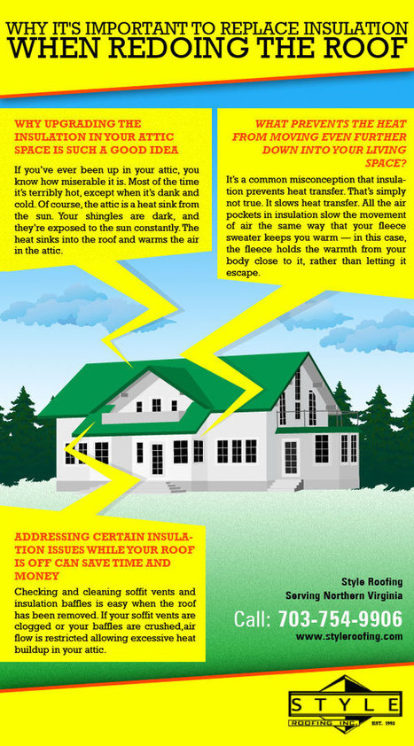 Why It's Important to Replace Insulation When Redoing the Roof | Roofing News | Scoop.it