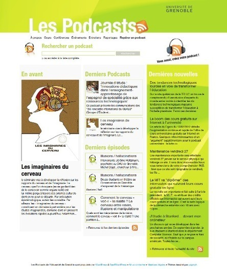 Podcast : les trésors de l'Université de Grenoble | TICE & FLE | Scoop.it