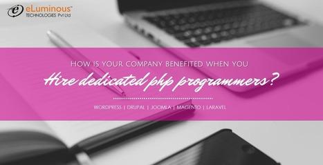 Benefits of hiinge dedicated PHP Programmers.   PHP development Company   Scoop.it