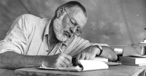 Hemingway's Advice on Writing, Ambition, the Art of Revision, and His Reading List of Essential Books for Aspiring Writers | Writing_me | Scoop.it