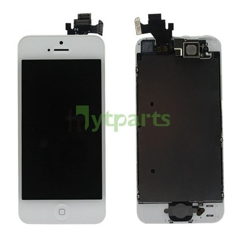 iPhone 5 Original Complete LCD with Touch Digitizer and Small Parts Assembly White   SEO & SEM   Scoop.it