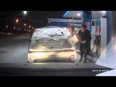 Rusa incendia su auto cuando cargaba gasolina | TJmix Mundial | Scoop.it