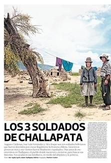 Los 3 soldados de challapata | La Tercera El Semanal | La Tercera Edición Impresa | riavaluoS | ACCI SRL | Scoop.it