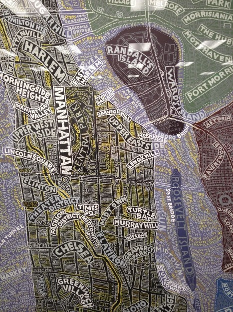Paula Scher x Maps - Off to see the elephant | Map@Print | Scoop.it
