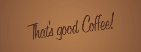 Faveoly Crowdfunding Project of the Day: That's Good Coffee! (@gp_in_italy) | Social Mercor | Scoop.it