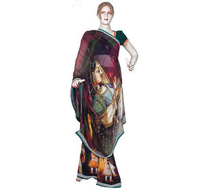 Indian clothing - sari, Kurti and Indian dresses | Scarves | Shop Scarf styles, Digital printed fabric, Tunic and Indian clothing | Scoop.it