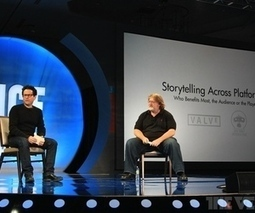 J.J. Abrams and Gabe Newell in talks, tease Bad Robot game and 'Half-Life' or 'Portal' movie | FutureMedia | Scoop.it