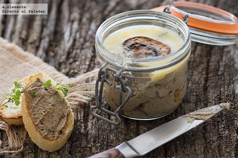 Paté de champiñones con tomillo y Marsala | Qué se #cocina en la red | Scoop.it