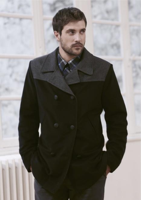 Tendances mode homme de cet hiver : matelassage, chemise en jeans, col châle, tête de loup, militaire, etc | IGTBB | Scoop.it