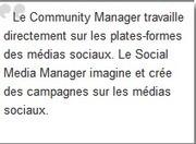 [Etes vous] Community Manager ou Social Media Manager ... | COMMUNICATION | Scoop.it