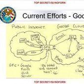 Comment la NSA infiltre secrètement les serveurs de Google et Yahoo! | Web Planet | Scoop.it