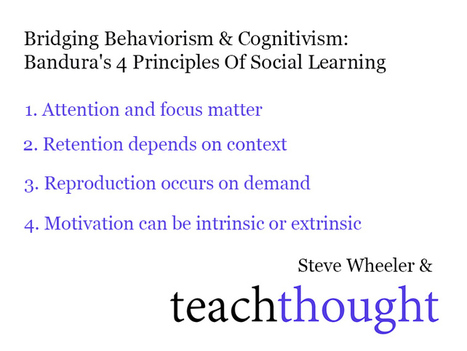 Bandura's 4 Principles Of Social Learning Theory | Professional support | Scoop.it