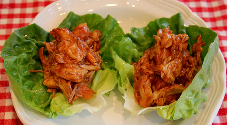 BBQ Chicken Lettuce WrapsOne Good Thing by Jillee | One Good Thing by Jillee | Live Long | Scoop.it