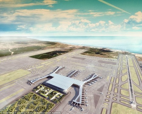 Plans revealed for gigantic new airport in Istanbul | Air Transportation | Scoop.it