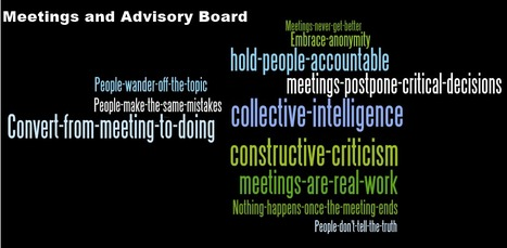 The Seven Sins of Deadly Meetings | Learning At Work | Scoop.it