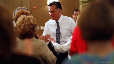 Romney shows softer side but keeps up attacks on Obama, Gingrich | TonyPotts | Scoop.it