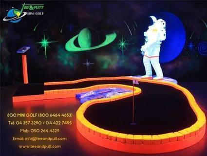 Enjoy the miniature version of golf i.e. mini golf in Dubai | Tee And Putt | Scoop.it