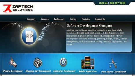 Zaptech Solutions - About - Google+ | Zaptech Solutions | Scoop.it