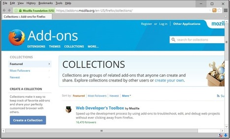 Are Firefox Add-on Collections dead? - gHacks Tech News | Freewares | Scoop.it