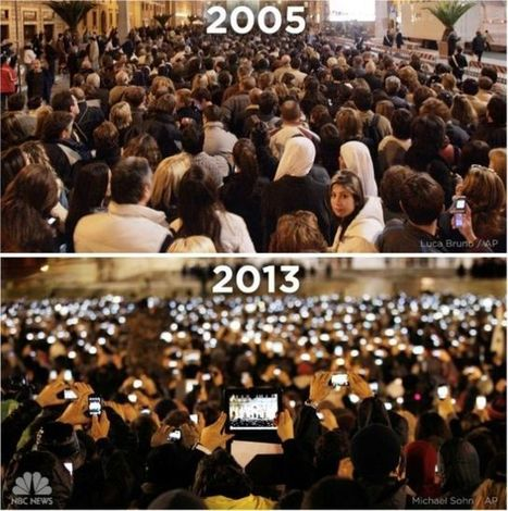 How Apple Has Changed The World In Just 7 Years [Picture = 1,000 Words] | Cult of Mac | Change management Yellowhouse | Scoop.it