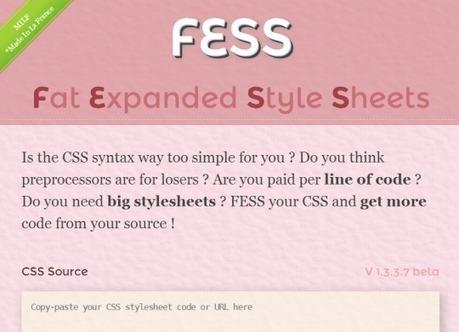[Fake] Lancement de Fess - Alsacreations | Web mobile - UI Design - Html5-CSS3 | Scoop.it