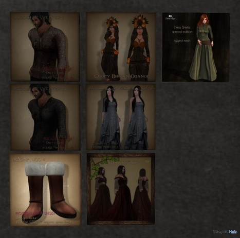 Outfits and Dresses Gifts by Witcher RPG | Teleport Hub - Second Life Freebies | Second Life Freebies | Scoop.it