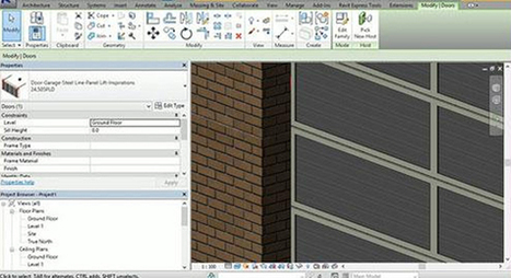 The Revit users can access a wide range of garage products as 3D Revit files | BIM Forum | Scoop.it