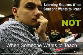 El aprendizaje se da cuando quieres aprender y no cuando alguien quiere enseñar - Roger Schank | Aprender en el 2013 | Scoop.it