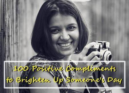 100 Positive Compliments to Brighten Up Someone's Day | Wellness | Scoop.it