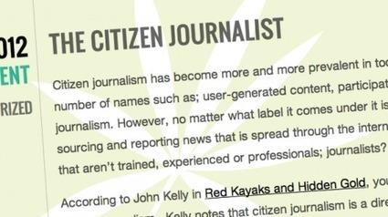 """""""...no es necesario ser periodista para crear periodismo""""   Educación y periodismo   Scoop.it"""