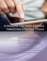 25 Reasons You Need a Mobile Marketing Strategy Today « Nowspeed | Website Advertising | Scoop.it