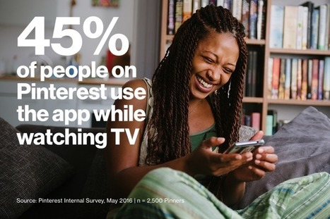 Pinterest and TV Go Hand-in-Hand [Infographic] | Pinterest | Scoop.it
