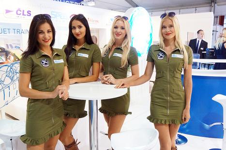 Czech Hostesses Shine at England Aerospace Event | Event Management | Scoop.it