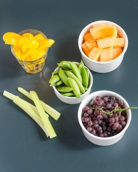 Here Are 10 Pictures of Your Daily Recommended Servings of Fruits & Vegetables — Delicious Nutrition | Gardening is more than Digging the Dirt | Scoop.it