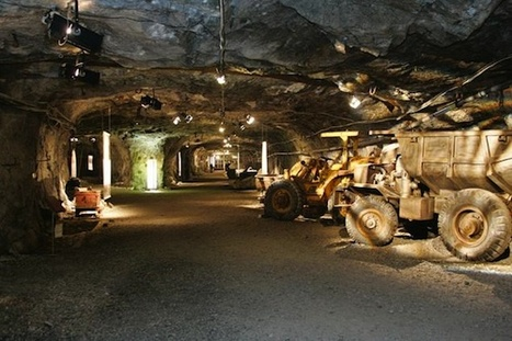 Finnish 'Pop-Down' Restaurant Is 262 Feet Underground - Eater National (blog) | Finland | Scoop.it