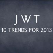 Les dix tendances 2013 de JWT Intelligence   Ooh-tv   Point de vente digital   Scoop.it