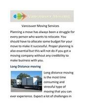 Vancouver Moving Inc | Vancouver Moving Inc | Scoop.it
