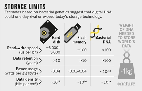 How DNA could store all the world's data and more | Communication design | Scoop.it