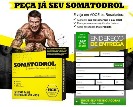 Interessado em Somatodrol? ... Leia aqui primeiro antes de experimentá-lo! | Muscular body and all of build muscle | Scoop.it