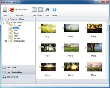 Recuperar archivos borrados en Windows con Undelete Navigator | Contenidos educativos digitales | Scoop.it
